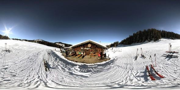 Vor der Lechneralm 2009, 360 Grad Panorama