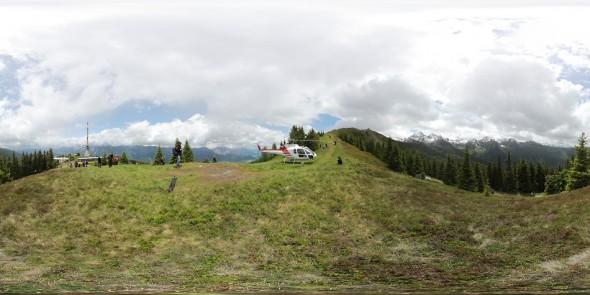 Hauser - Kaibling 2011, Ennstal Lamm, 360 Grad Panorama