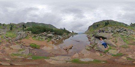 Am Spiegelsee auf der Reiteralm 2011, 360 Grad Panorama