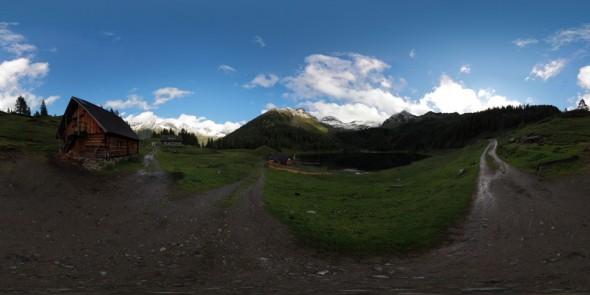 Zwischen Fahrlechhütte und Duisitzkarhütte 2011, 360 Grad Panorama