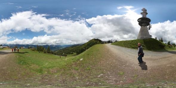 Hauser Kaibling 2011, 360 Grad Panorama