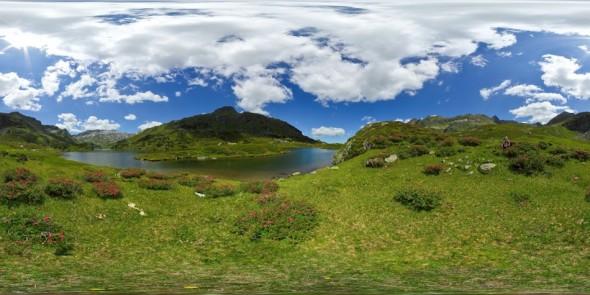 "Am ""Unteren Giglachsee"" 2011, 360 Grad Panorama"