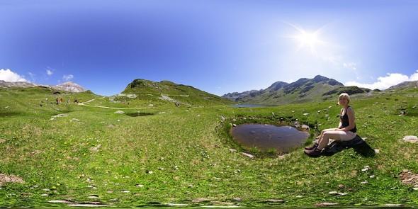 "Am Giglachsee 2011, ""Tauernhof Fotowoche 2"", 360 Grad Panorama"