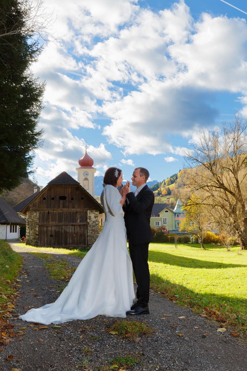 Evelyn und Hannes am 29. Oktober 2016