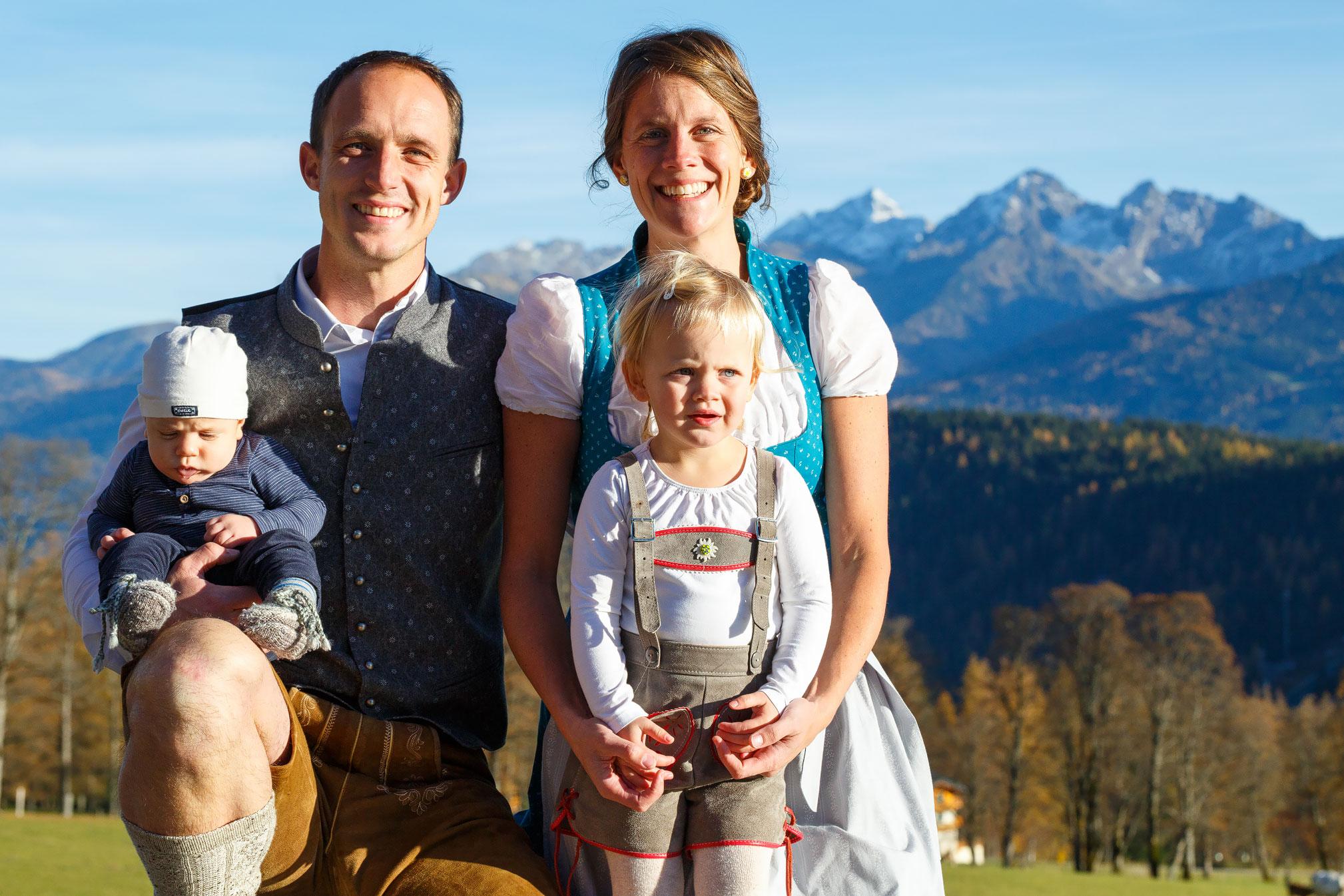 Familyshooting mit David, Debs, Ruby & Bennett am 01. 11. 2016