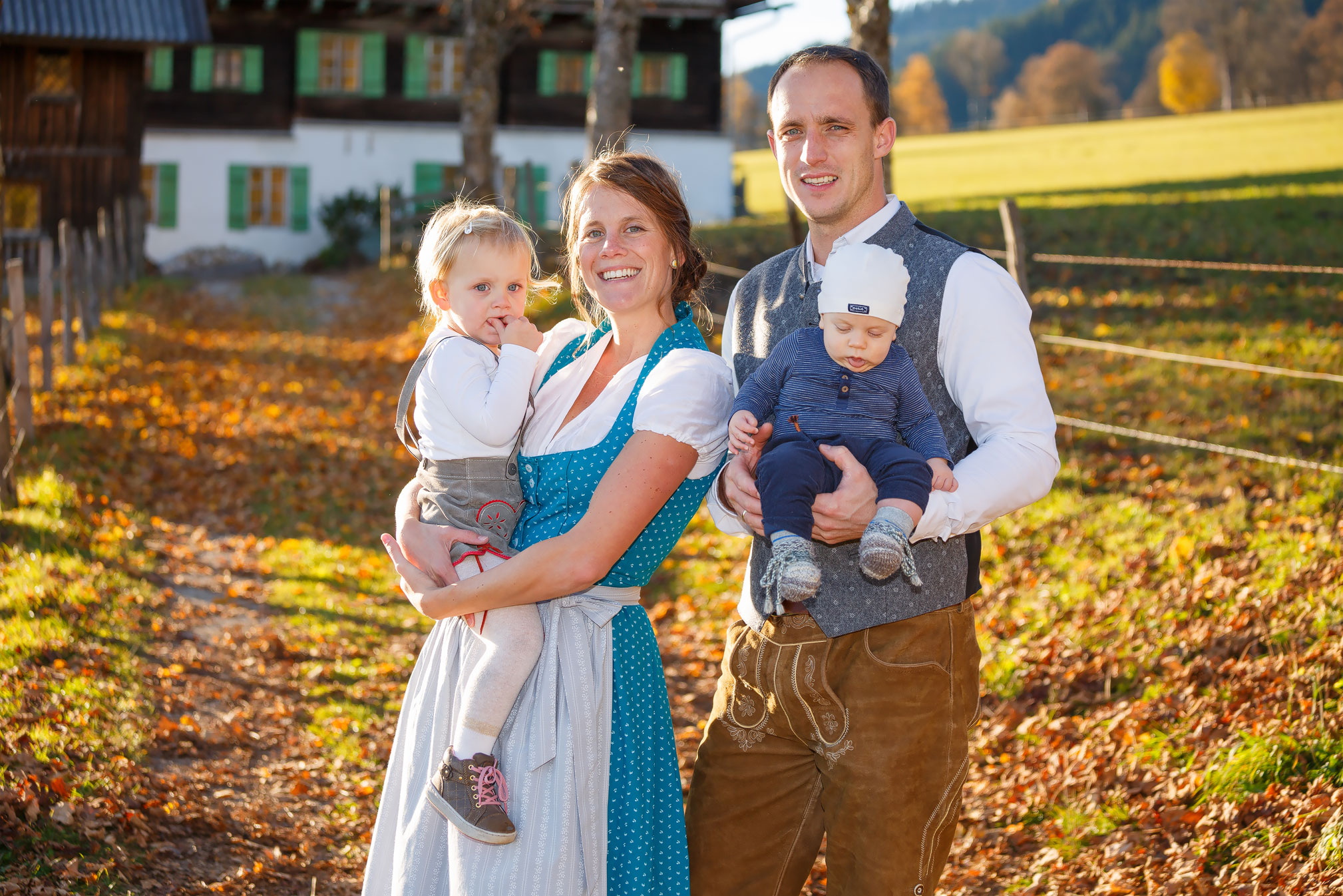 Familyshooting mit David, Debs, Ruby & Bennett am 01. 11. 2016