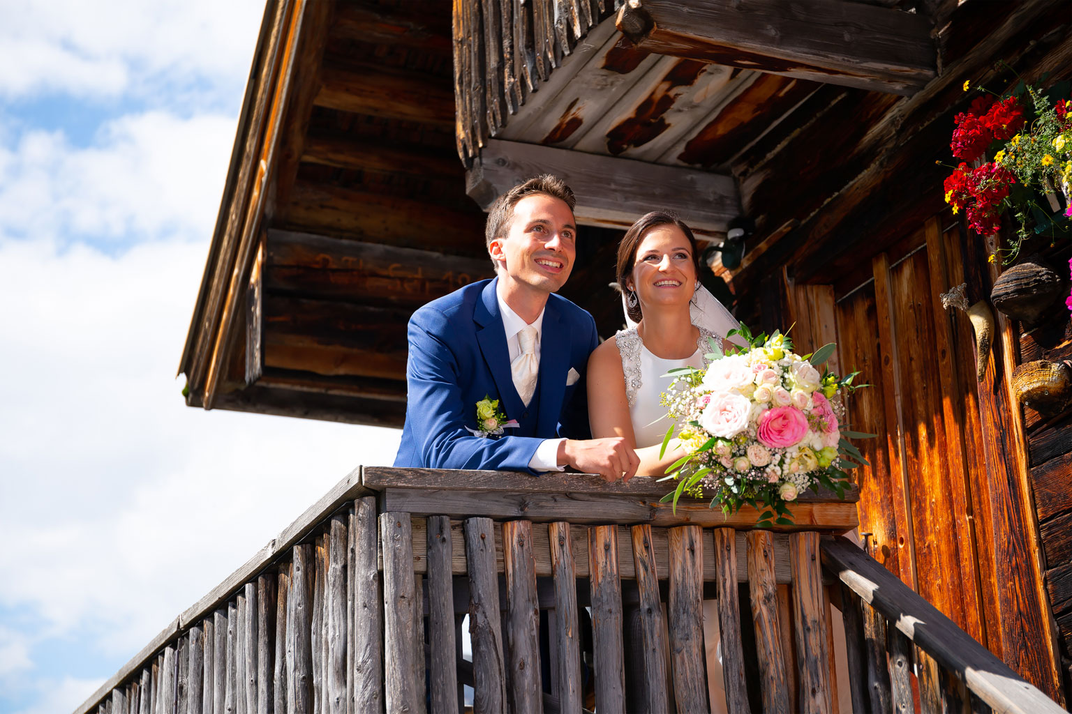 Bianca und Christoph am 15. September 2018