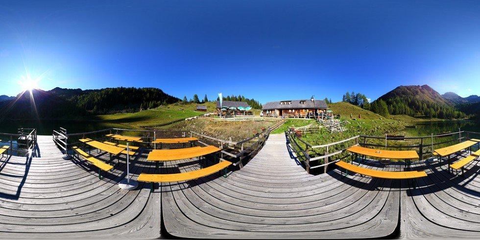 Fahrlechhütte 2011, Duisitzkarsee, 360 Grad Panorama