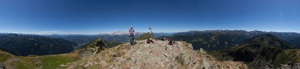 Auf dem Rippeteck, 360 Grad Panorama