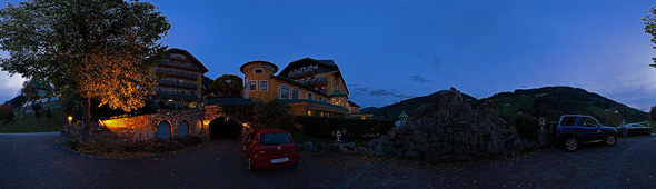 Vor dem Pichlmayrgut, 360 Grad Panorama