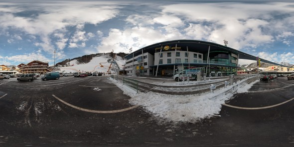 Die neue Planai 2011, Schladming, 360 Grad Panorama