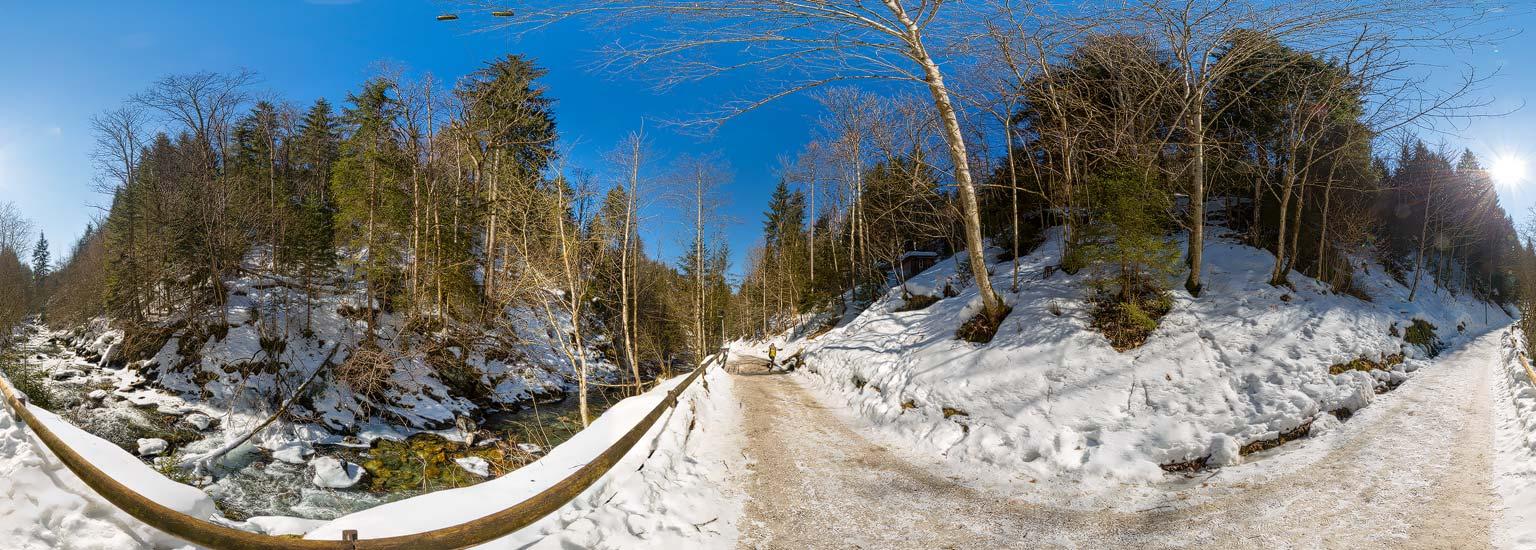 Winterspaziergang am Talbach