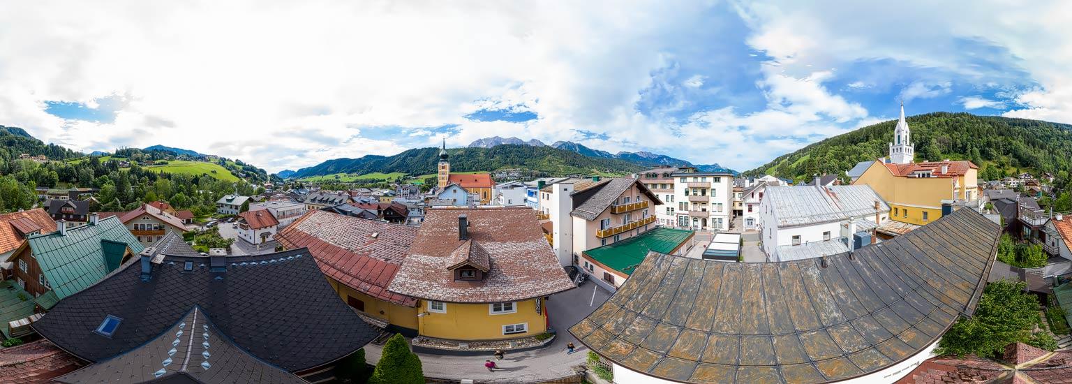 Schladming,Panoramafotografie, Luftpanorama, Lothar Scherer, Fotograf Schladming