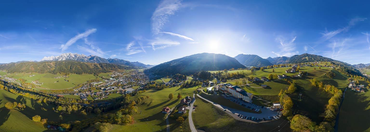 Panoramafotografie, Fotografie - Lothar Scherer, Schladming