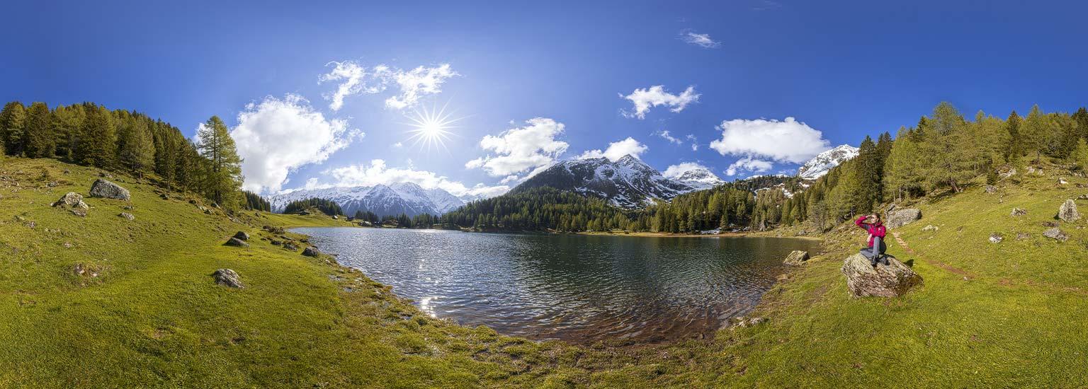 360 Grad Panoramen - Duisitzkarsee