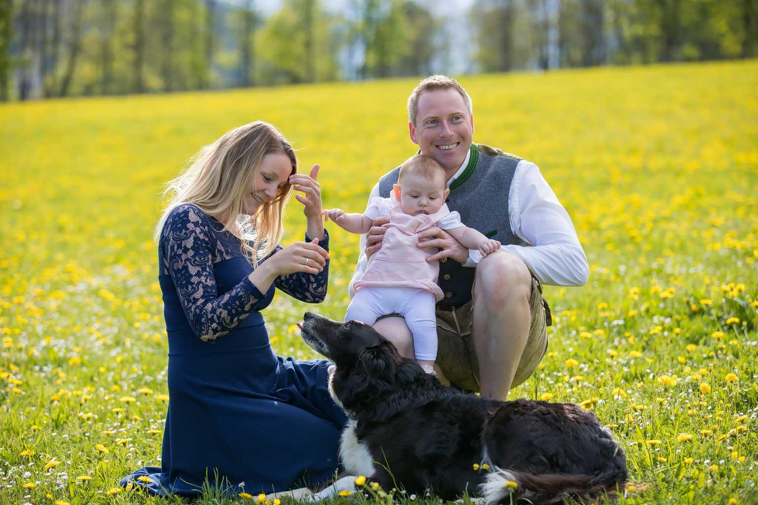 Familyshooting mit Damaris, Gerhard & Marie