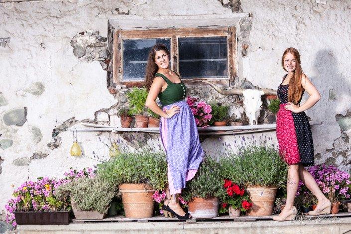 Annina und Marlene, am 26. August 2014