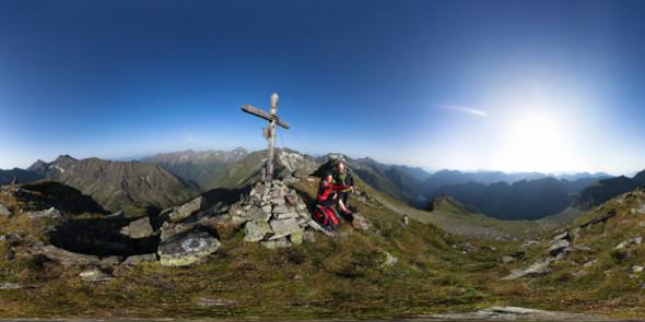 Auf dem Steirischen Schöneck, 2540m, 360 Grad Panorama